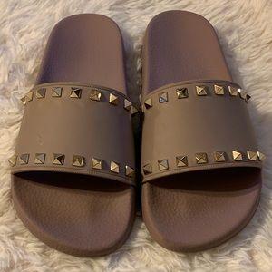 Valentino Rockstud Slide Sandal Size 40!!!